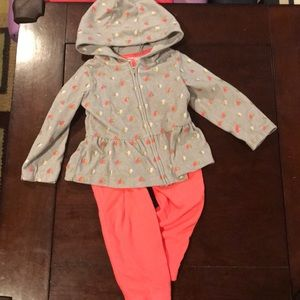 Girls Fleece Outfit